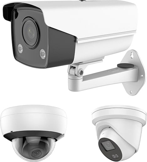 Commercial security camera hardware